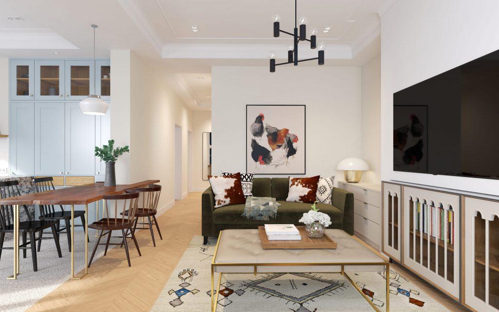 Дизайн квартири та меблів для дому Architectural visualization services for interior designers