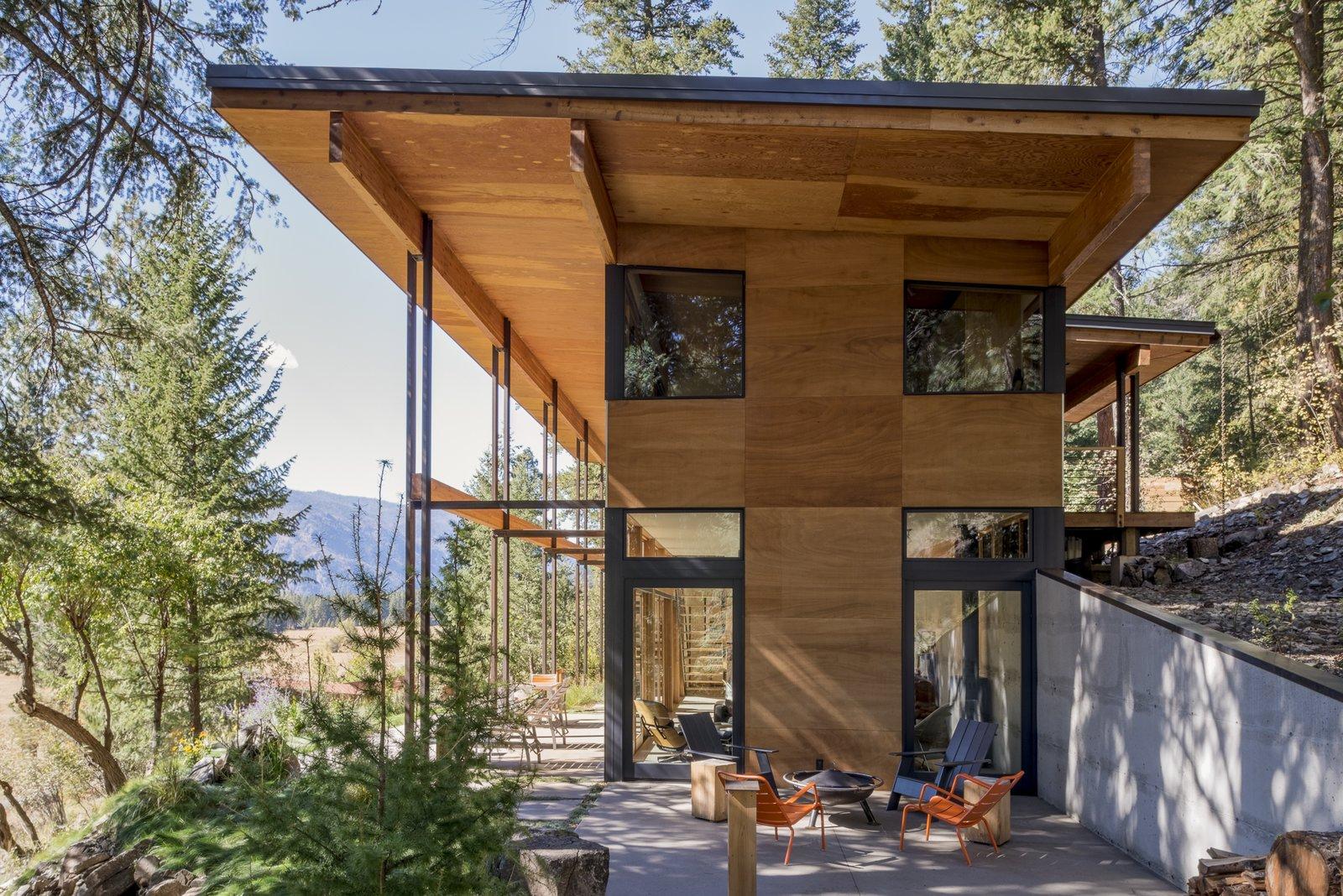 Будинок загублений в горах
